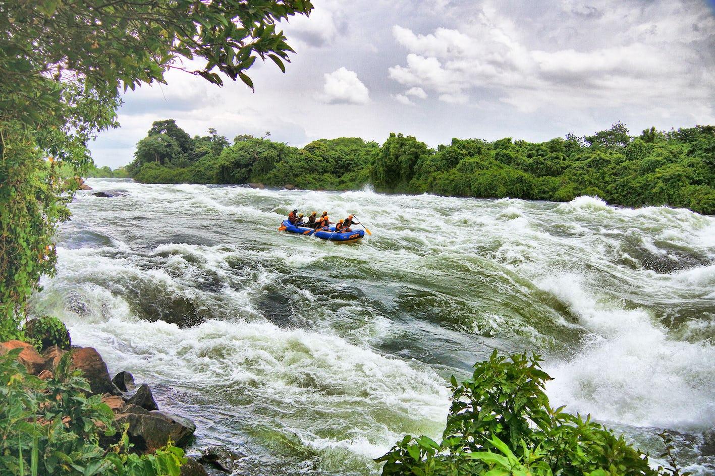 5 Days Gorilla trekking and Jinja white water rafting safari